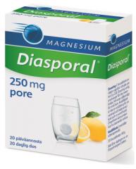 Diasporal magnesium 250 Aktiv poretabletti 20 kpl