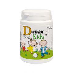 D-max 10 mikrog KIDS 300 tabl