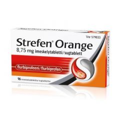STREFEN ORANGE 8,75 mg imeskelytabl 16 fol