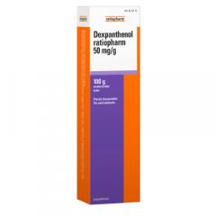 DEXPANTHENOL RATIOPHARM 50 mg/g emuls voide 100 g
